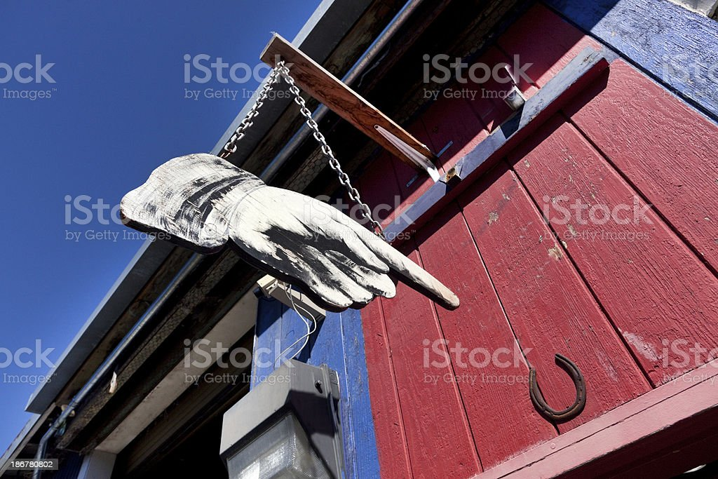 Hand Sign royalty-free stock photo