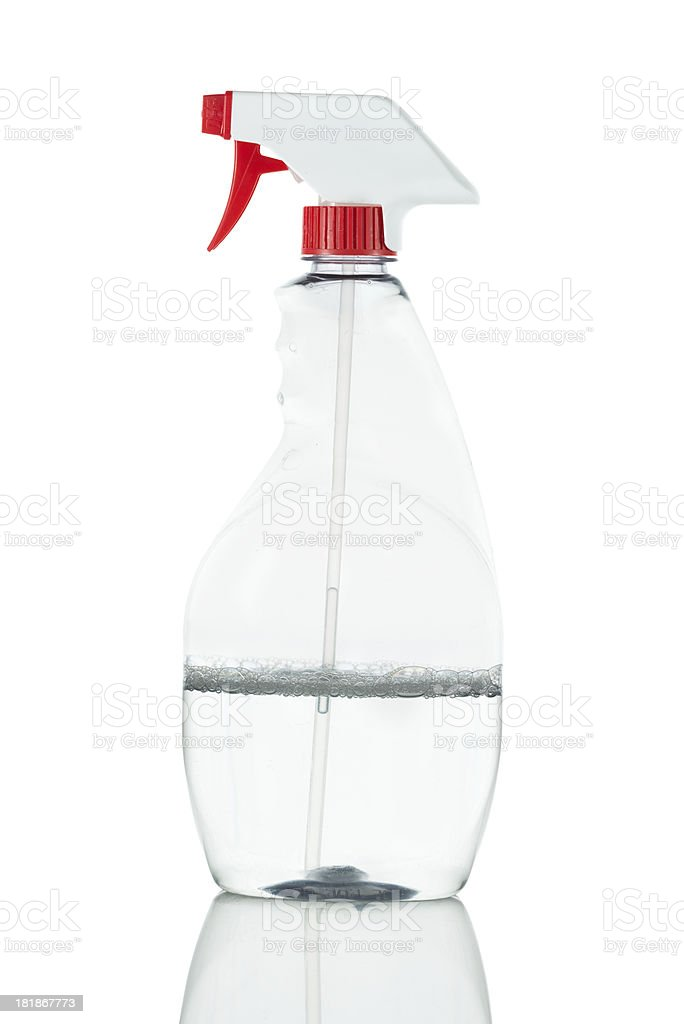 Hand sprayer isolated on white royalty-free stock photo