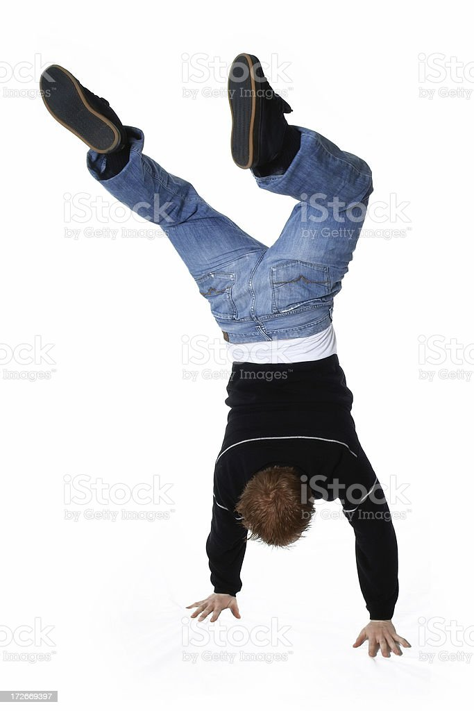 Hand Stand royalty-free stock photo