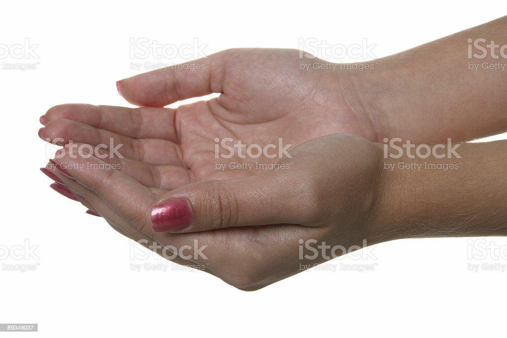 Hand symbol royalty-free stock photo
