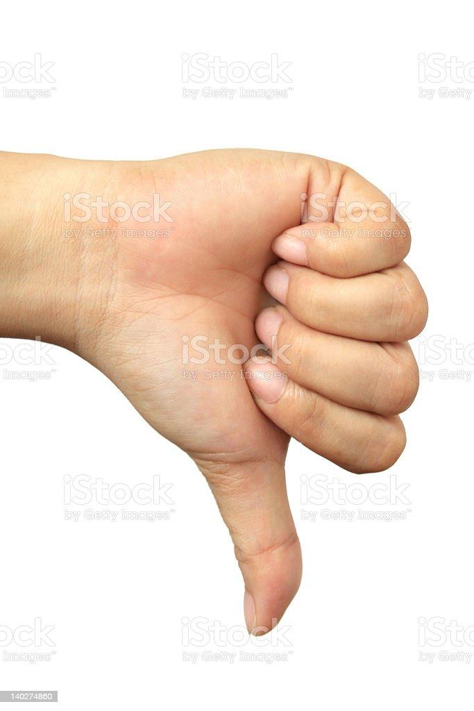 Hand Talk Series stock photo