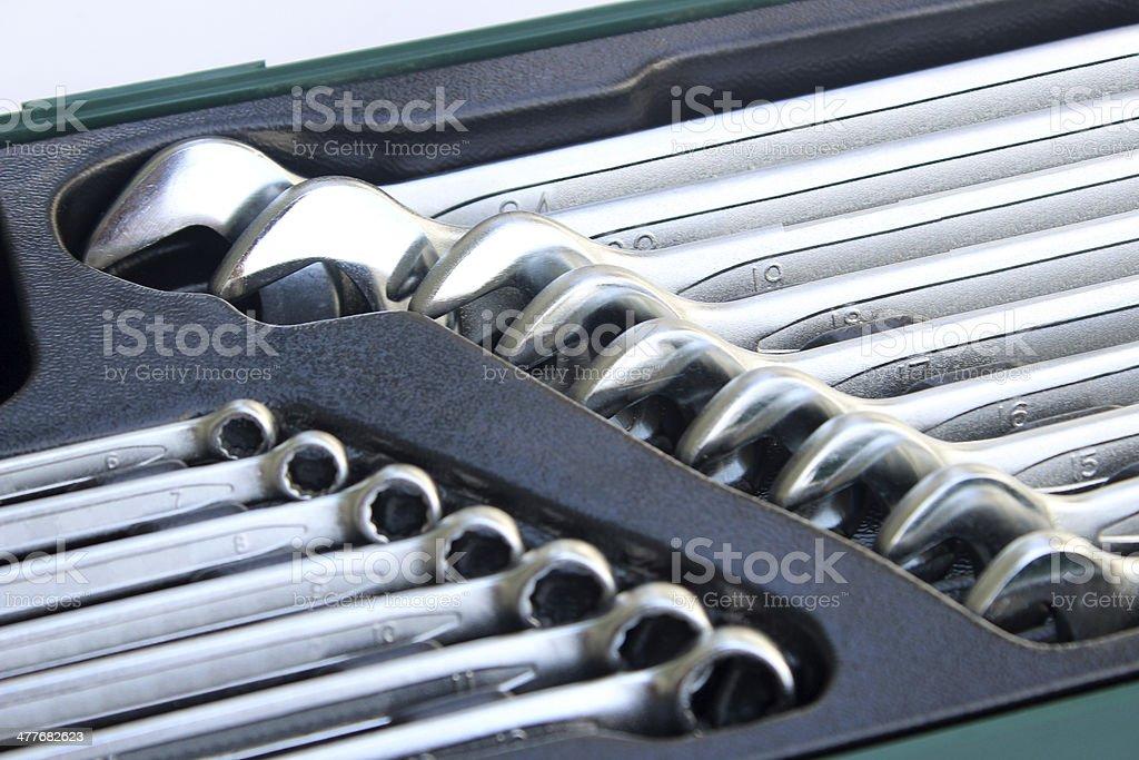 hand tool set royalty-free stock photo