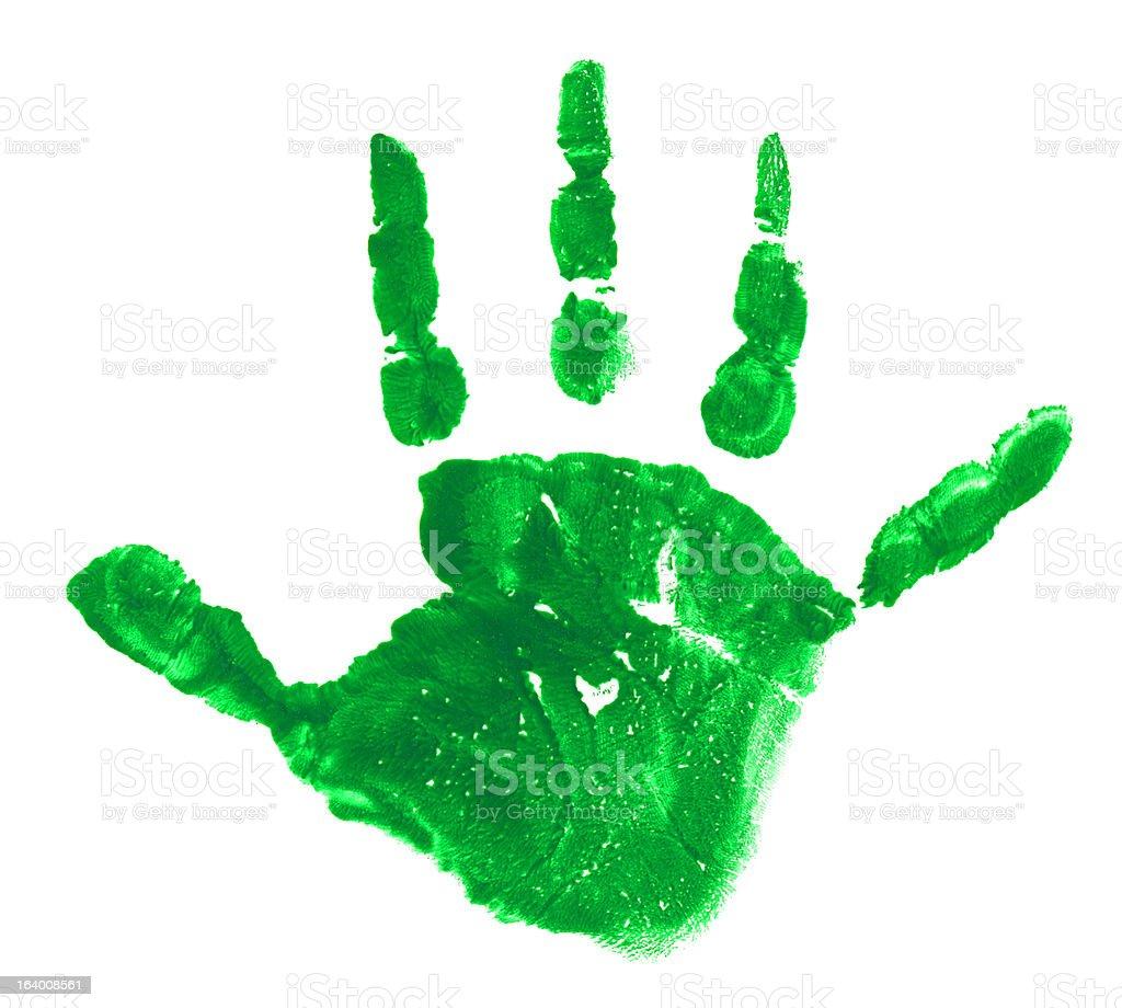 Hand Track royalty-free stock photo