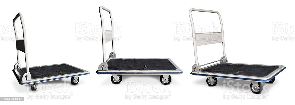 Hand Truck / Hand Cart Isolated stock photo