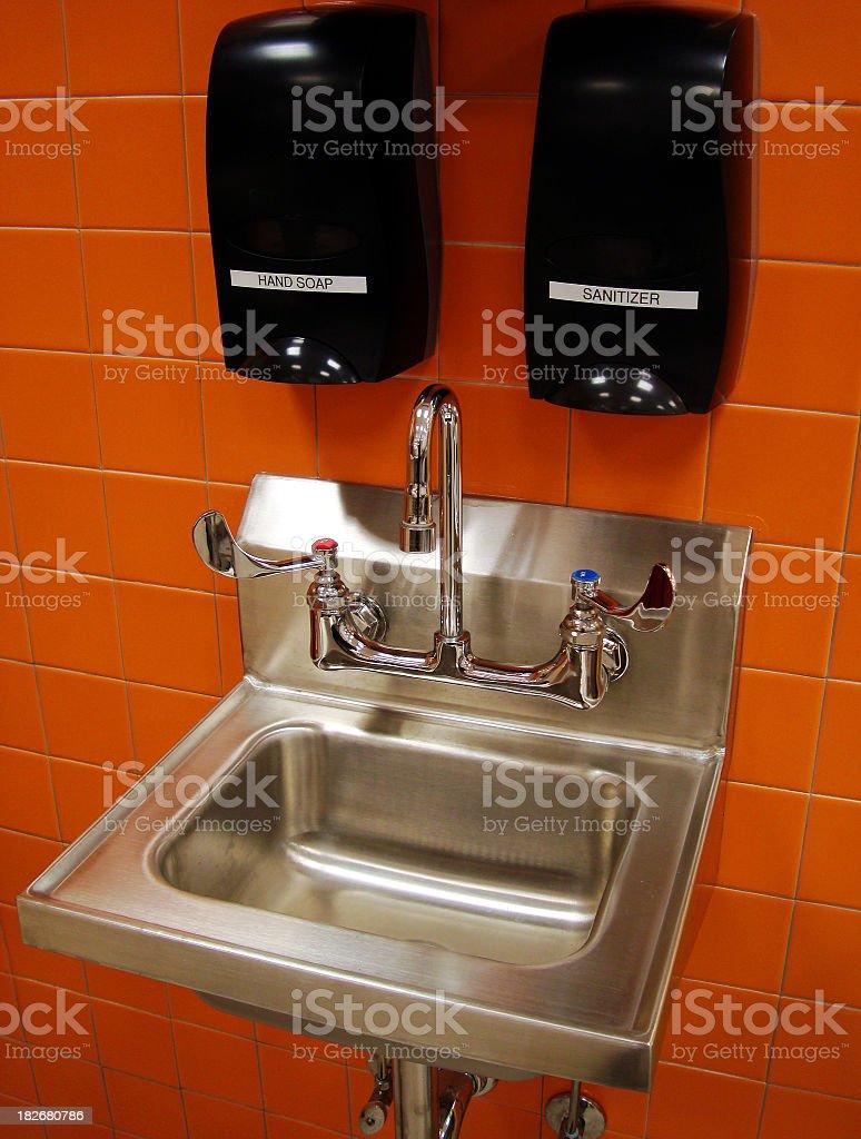 Hand Washing Station stock photo