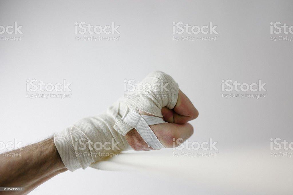 Hand Wraps stock photo