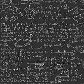 Hand writing physics formula
