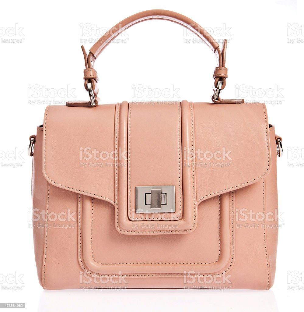 handbag isolated stock photo