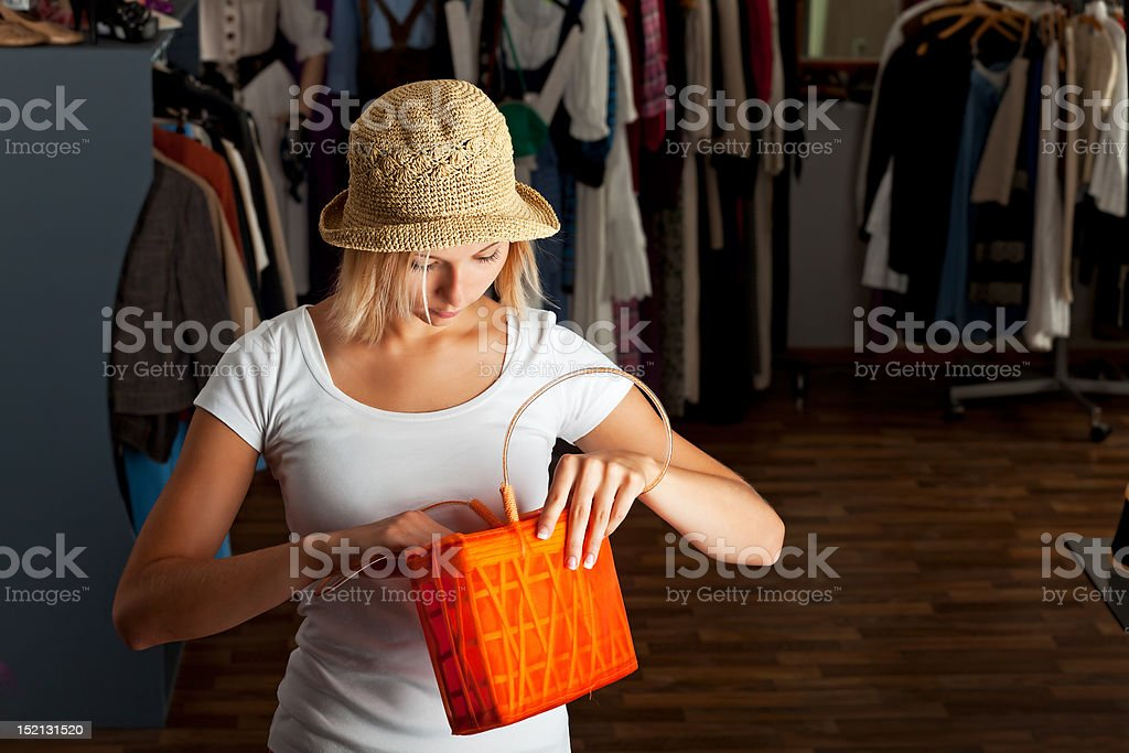 handbag royalty-free stock photo