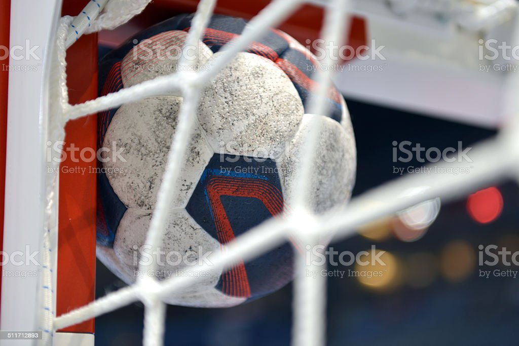 Handball - Goal stock photo