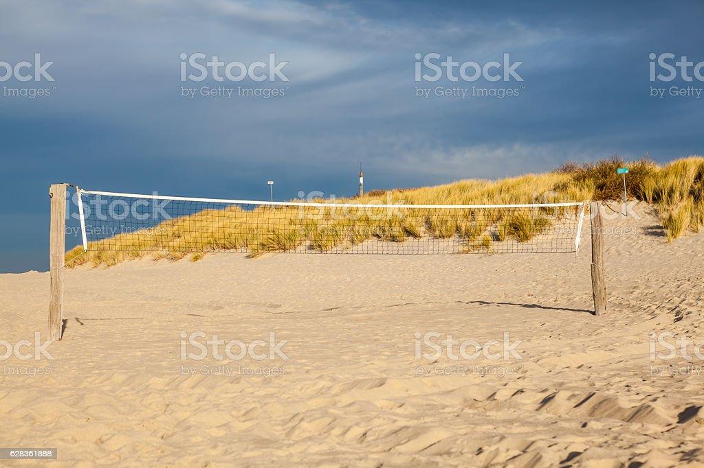 handball or volleyball stock photo