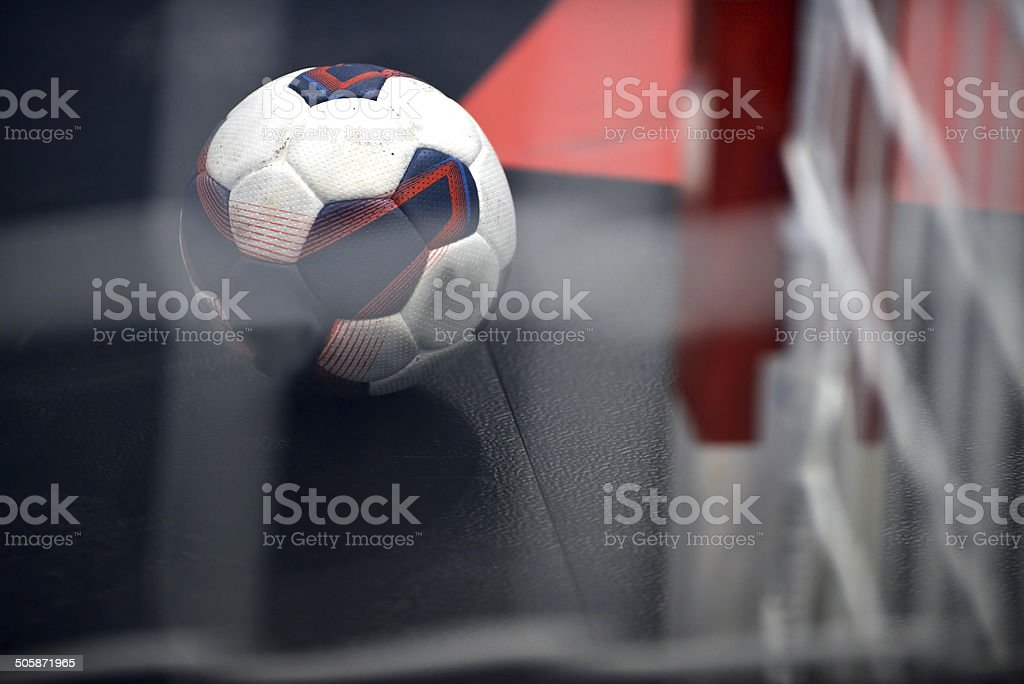 Handball royalty-free stock photo