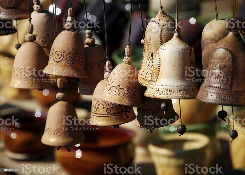 Handbells royalty-free stock photo