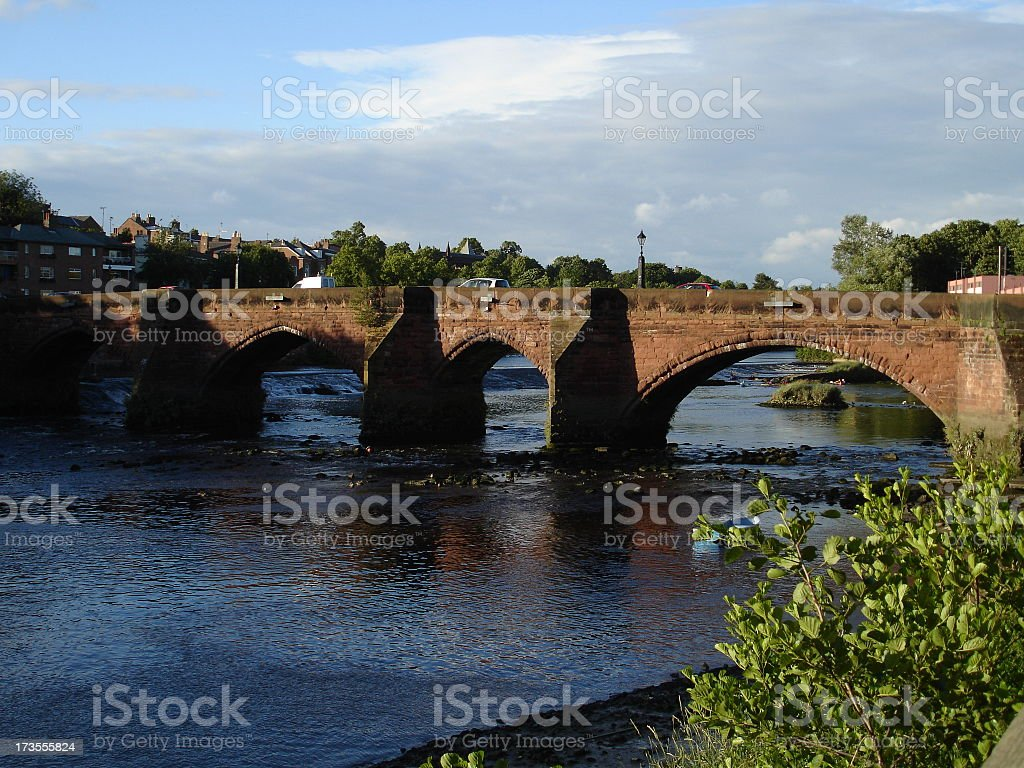 Handbridge, Chester UK royalty-free stock photo
