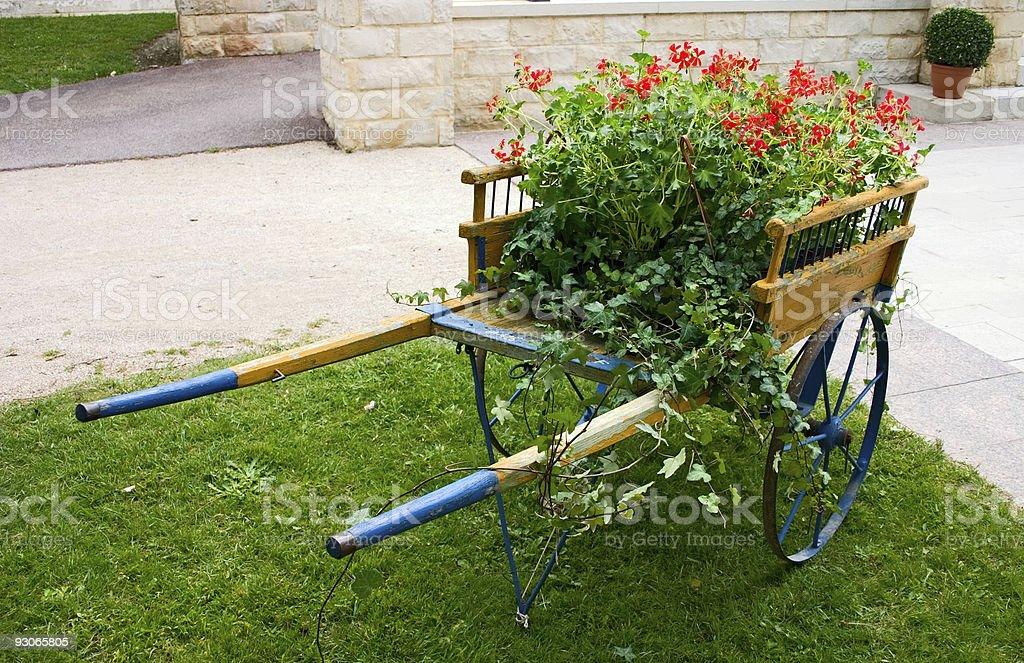 Handcart royalty-free stock photo