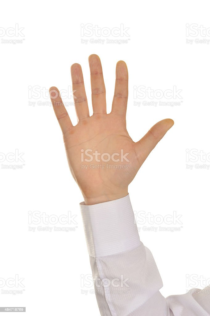 Hand+Clipping Path (Click for more) stock photo
