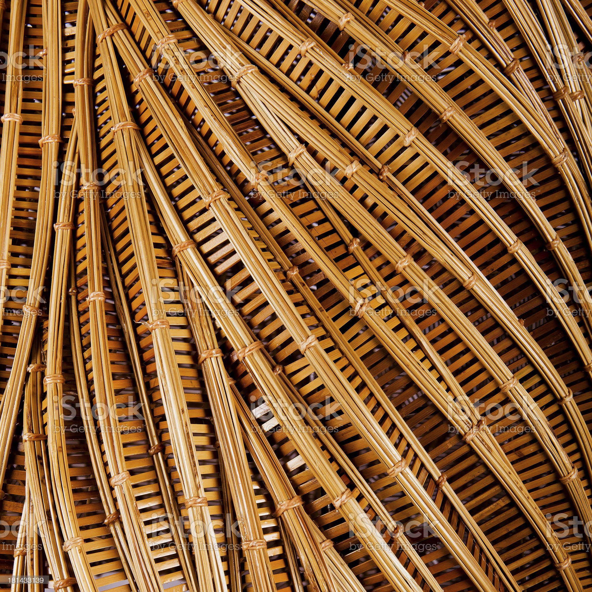 handcraft weave texture natural bamboo royalty-free stock photo