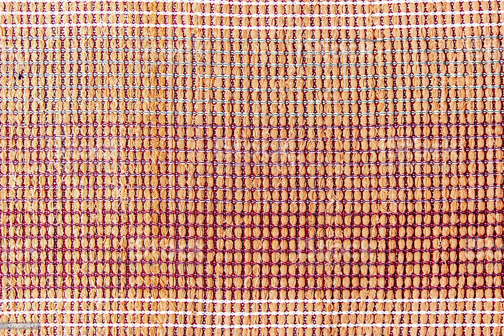 handcraft weave texture natural cotton or background royalty-free stock photo