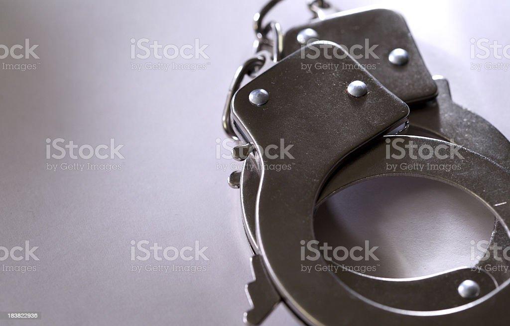 Handcuff stock photo