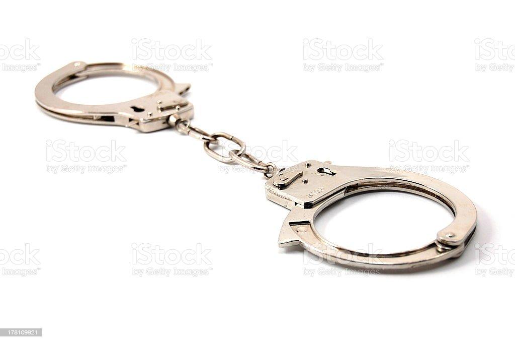 handcuffs royalty-free stock photo