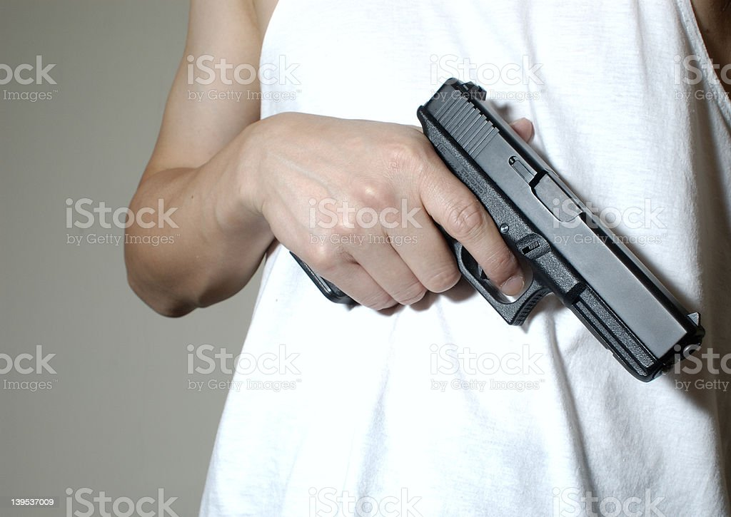handgun 2 royalty-free stock photo