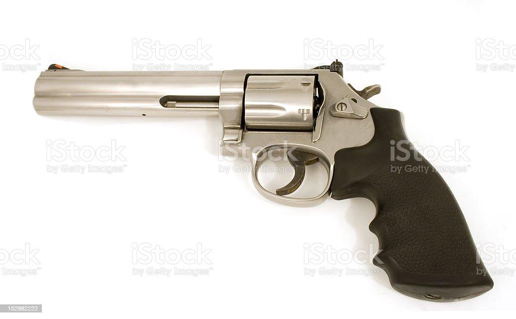 Handgun 357 Magnum stock photo
