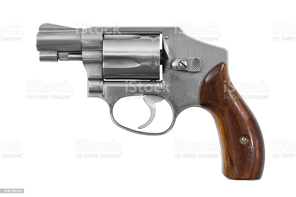 Handgun Isolated stock photo