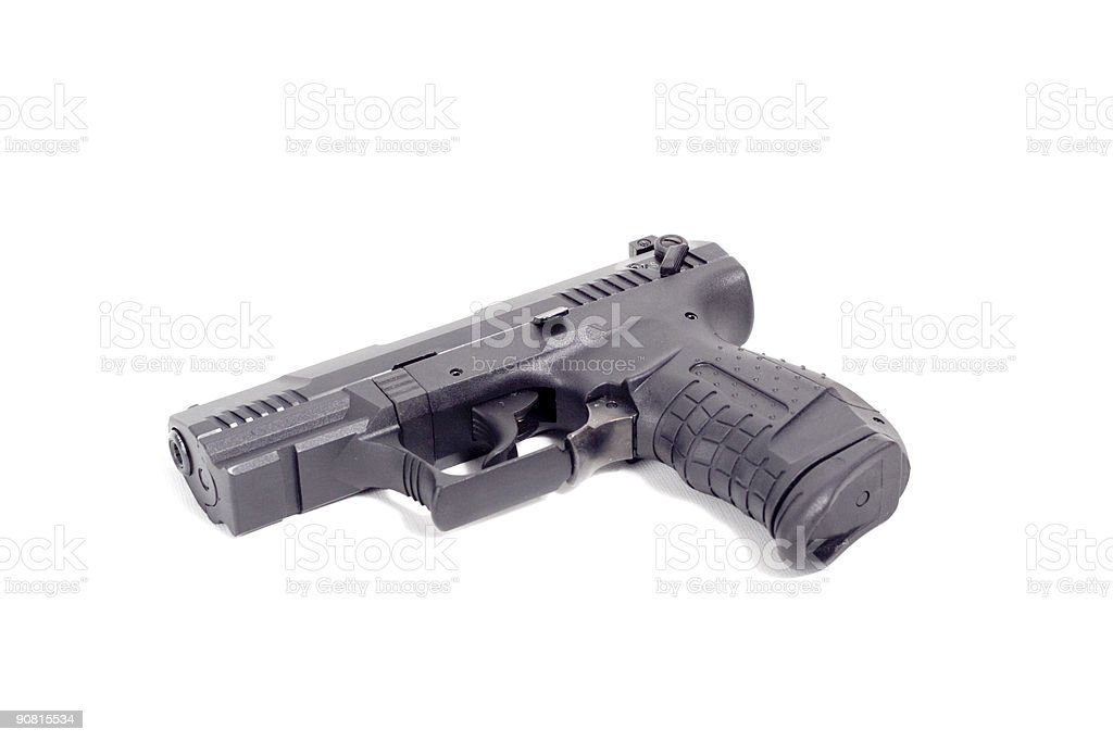 Handgun royalty-free stock photo