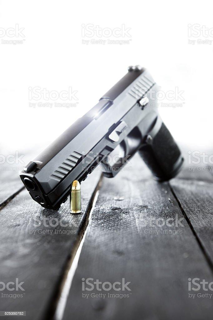 Handgun, Pistol stock photo