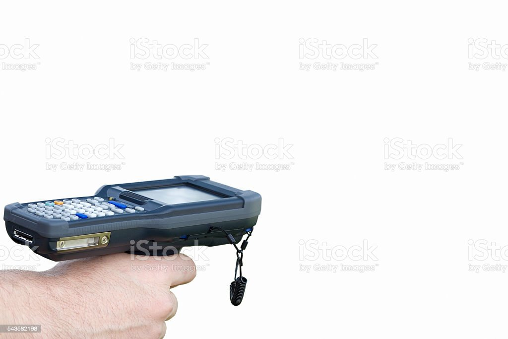handheld devices stock photo
