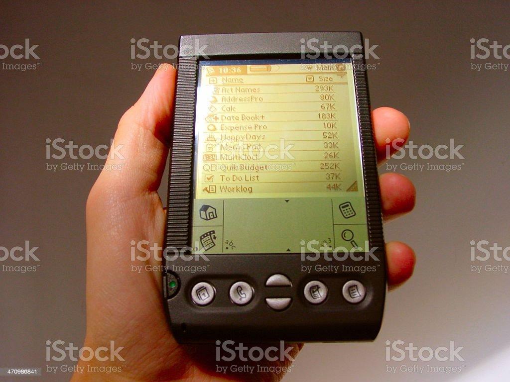 Handheld stock photo