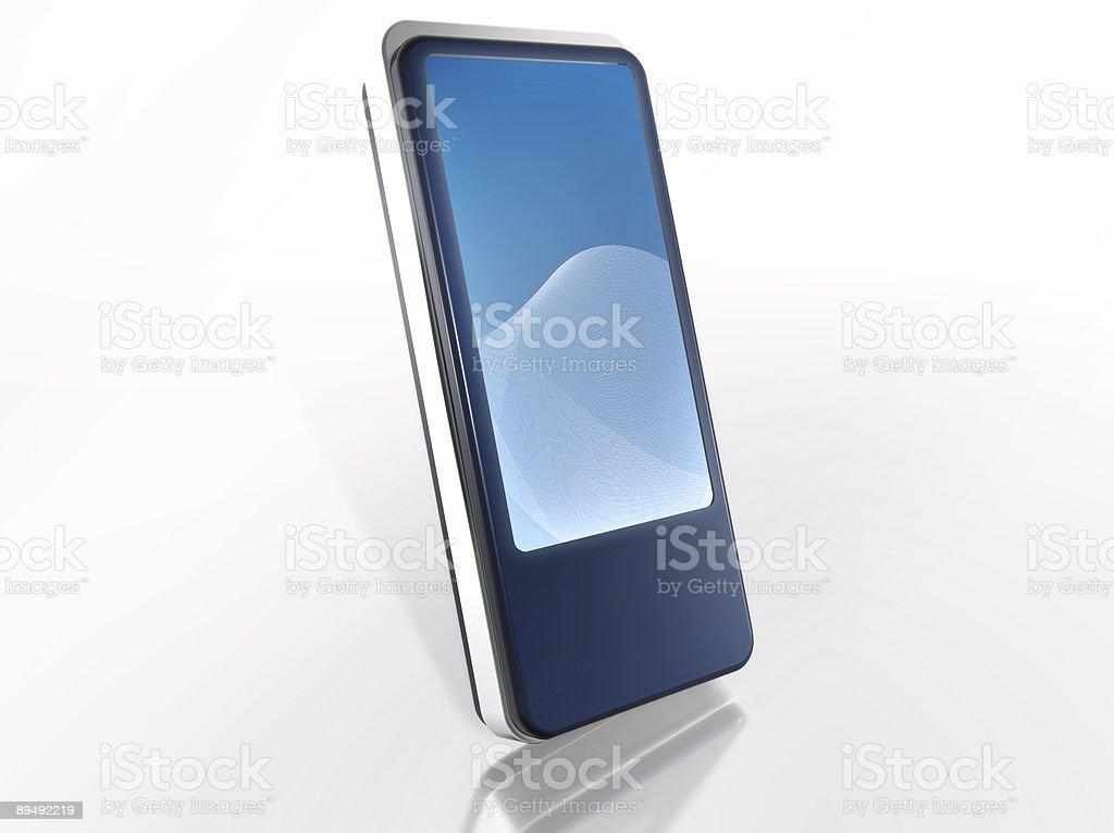 PDA Handheld (Large) royalty-free stock photo