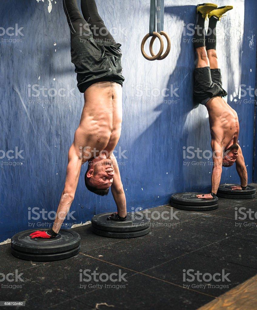 upside down workout - cross training