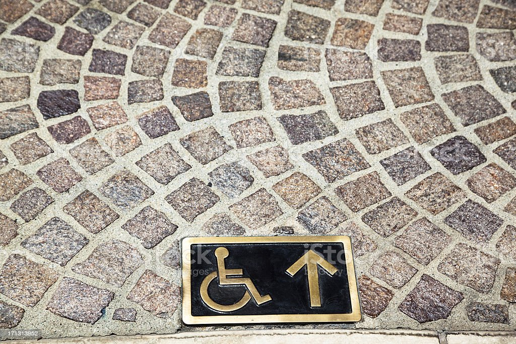Handicap Access stock photo