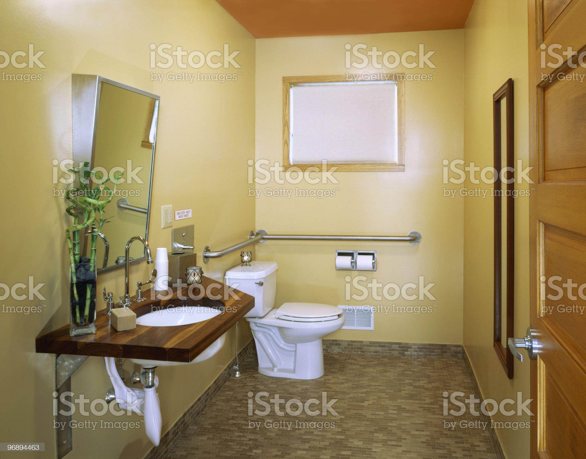 Handicap Access Restroom royalty-free stock photo