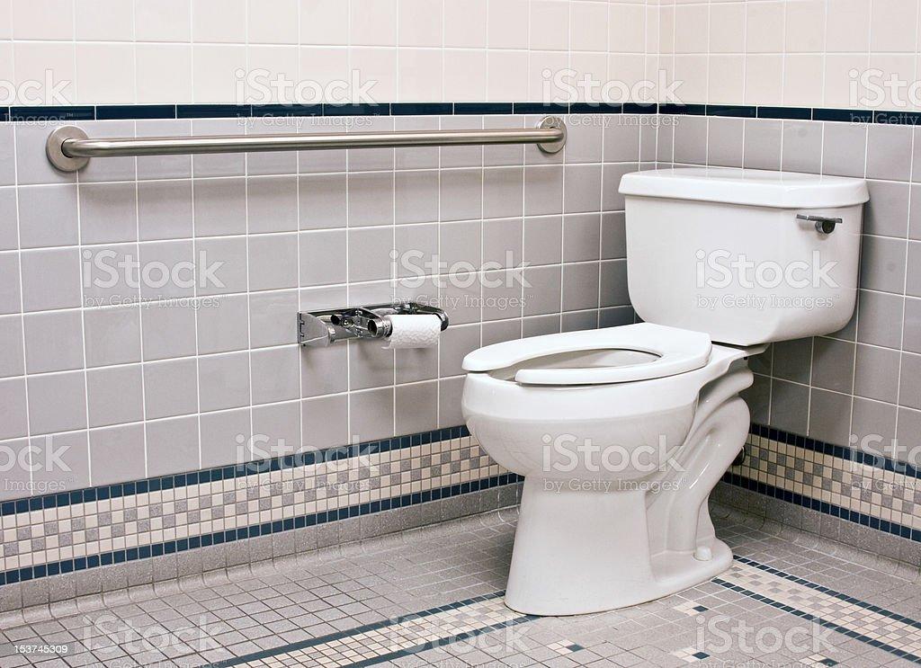 handicap bathroom stock photo