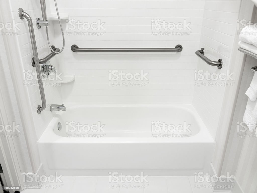 Handicapped Disabled Access Bathroom stock photo