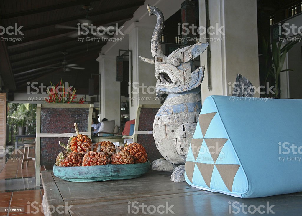 Handicrafts On Table royalty-free stock photo