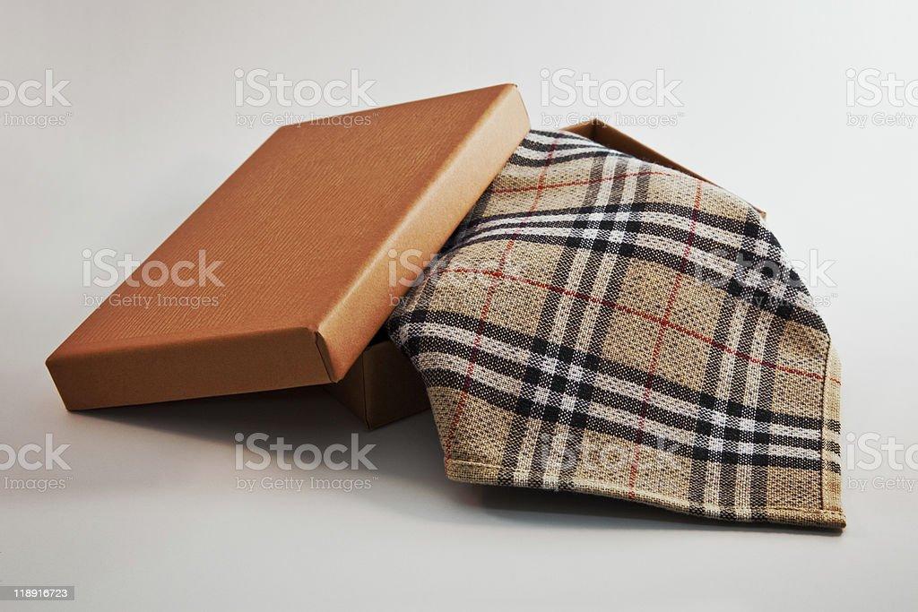 Pañuelo, desde una caja foto de stock libre de derechos
