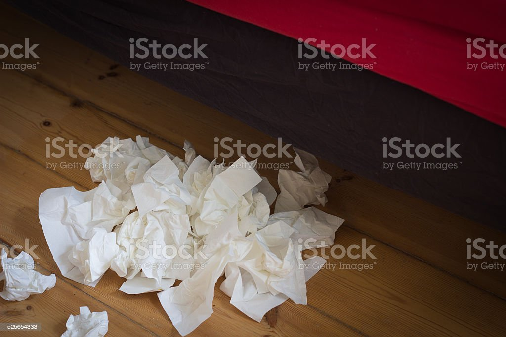 handkerchiefs stock photo