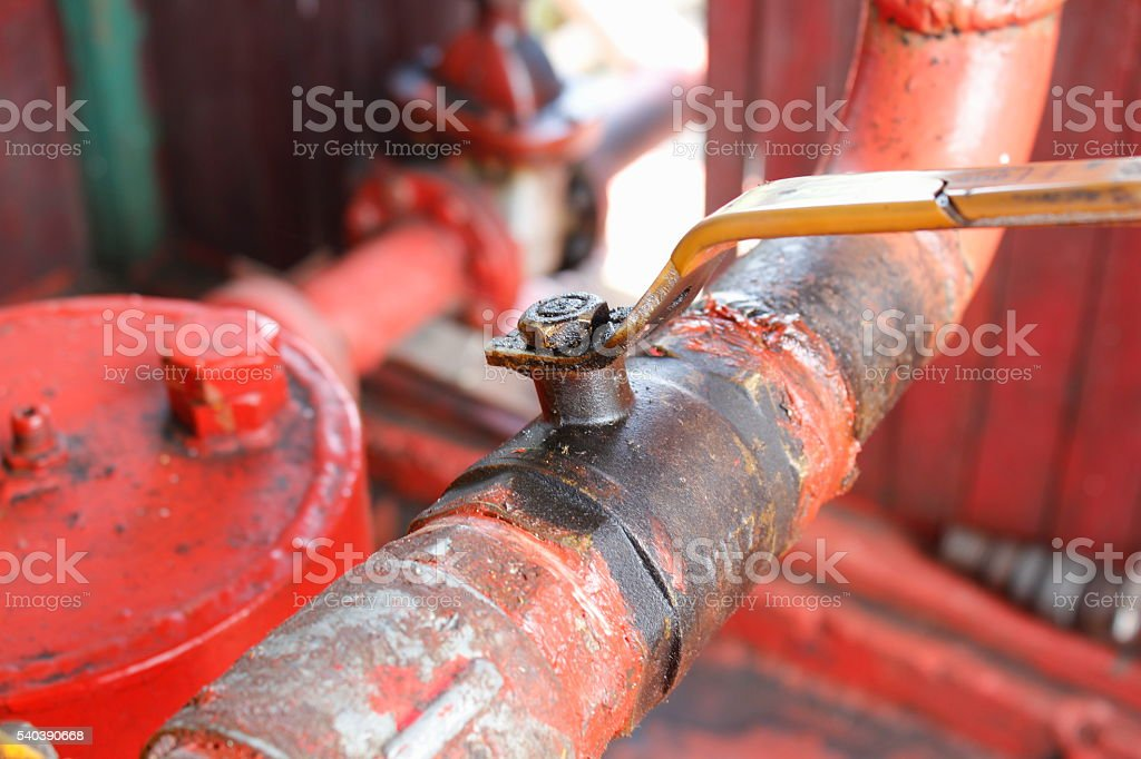 handle faucet stock photo