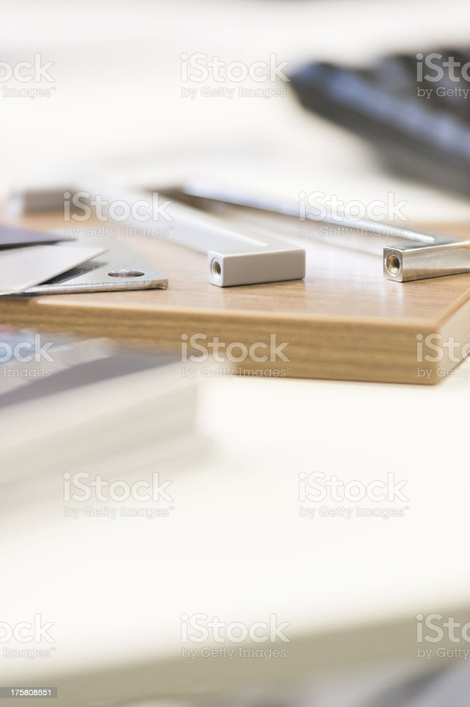 handle for furniture royalty-free stock photo