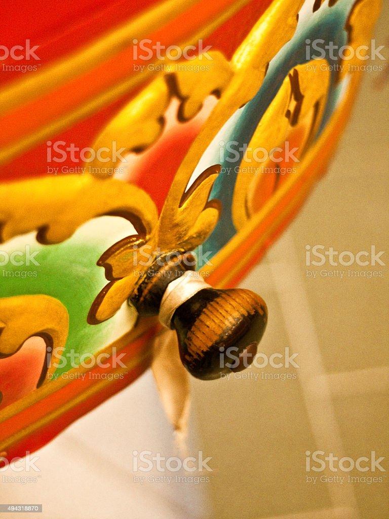 Handle of drum desires stock photo