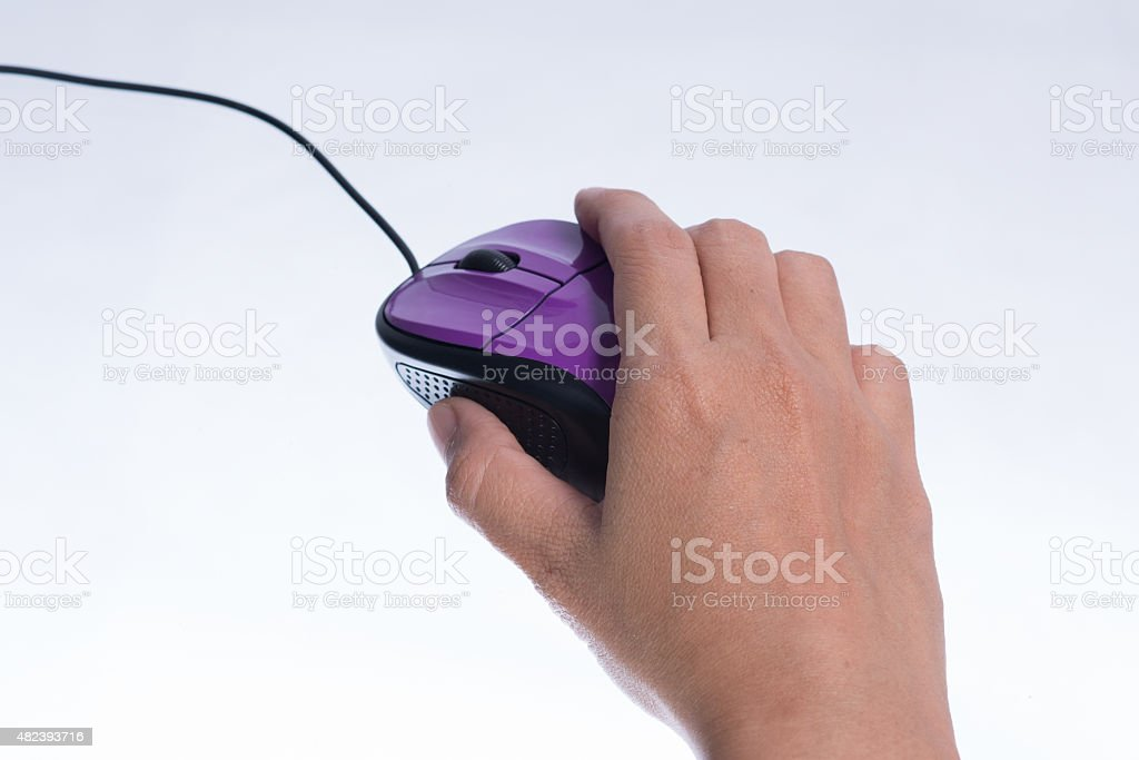 Handle the mouse. stock photo