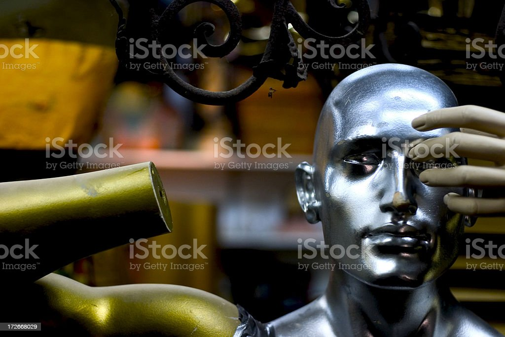 Handless Mannequin royalty-free stock photo
