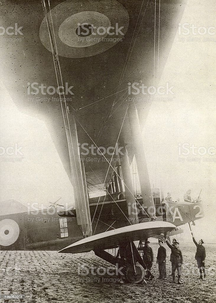 handley page royalty-free stock photo