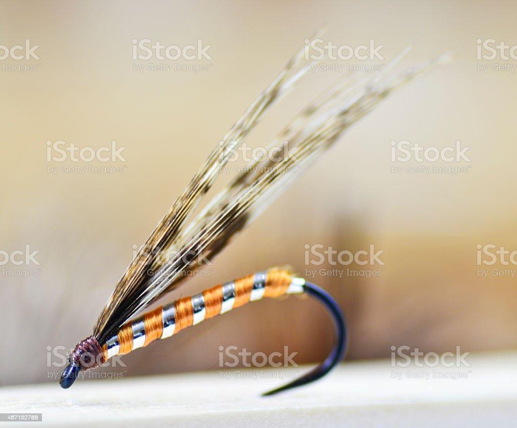 Handmade bait stock photo