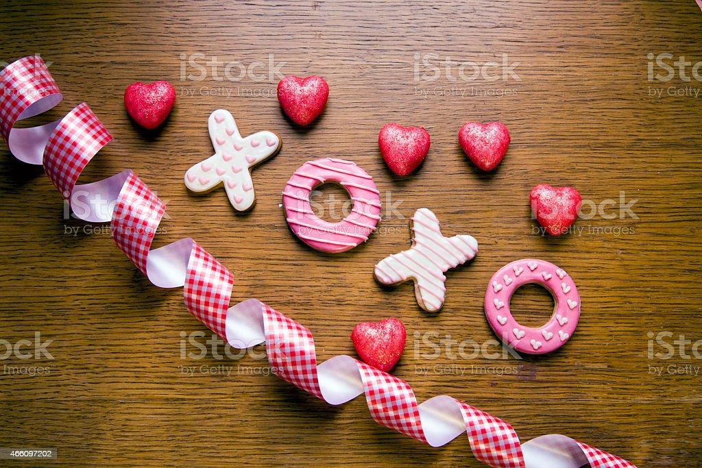 Handmade cookies stock photo