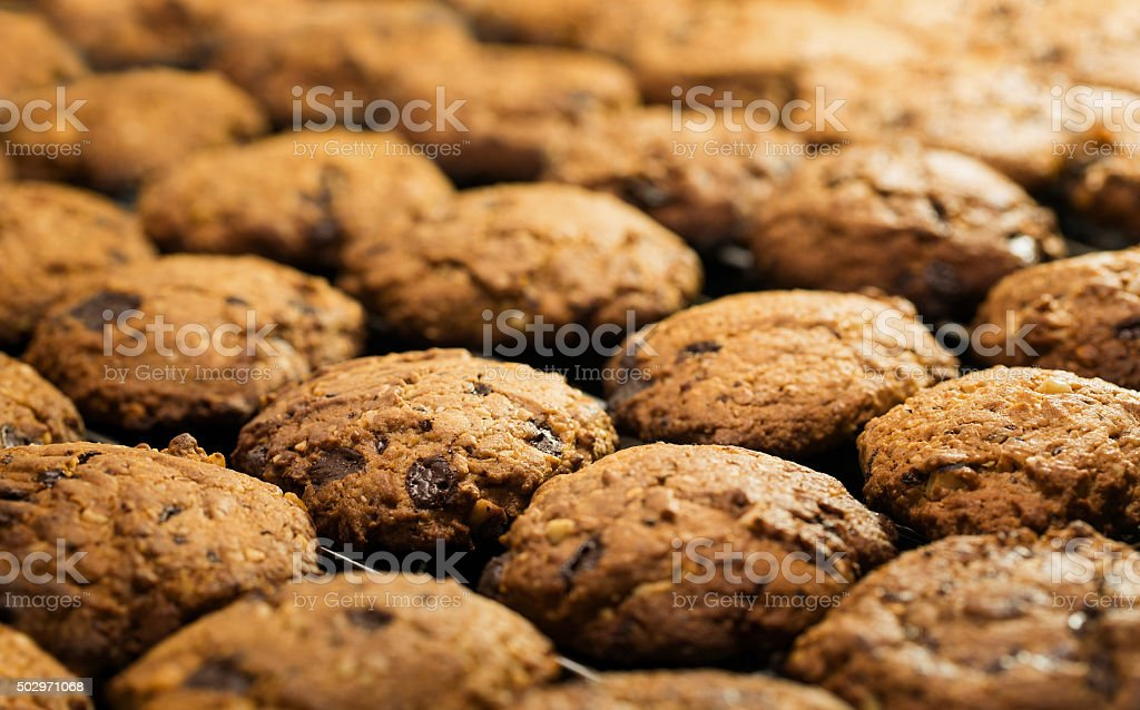 Handmade cookies stock photo