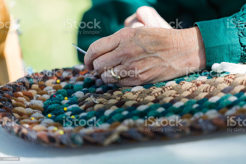 Handmade craft stock photo